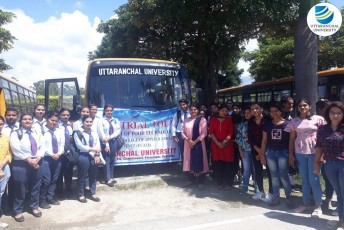 School of Applied and Life Sciences conducts an Industrial Tour to Aanchal Dairy, Dehradun