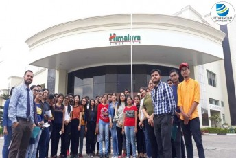 School of Applied and Life Sciences organizes an Industrial Visit to Himalaya Drug Company, Dehradun